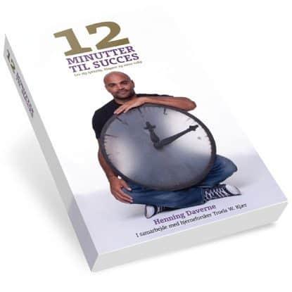 12 Minutter til Succes Meditation bog af Henning Daverne