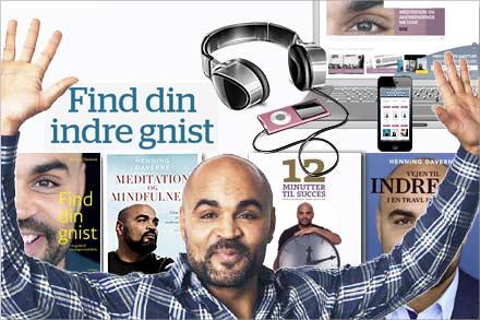 Meditation og mindfulness bøger og lydfiler på Henning Daverne