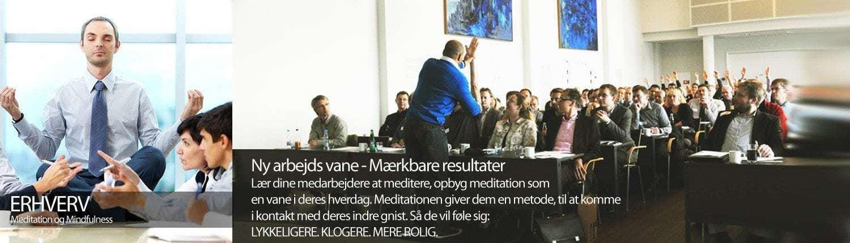 Erhverv og meditation: lær dine medarbejdere at meditere på Henning Daverne